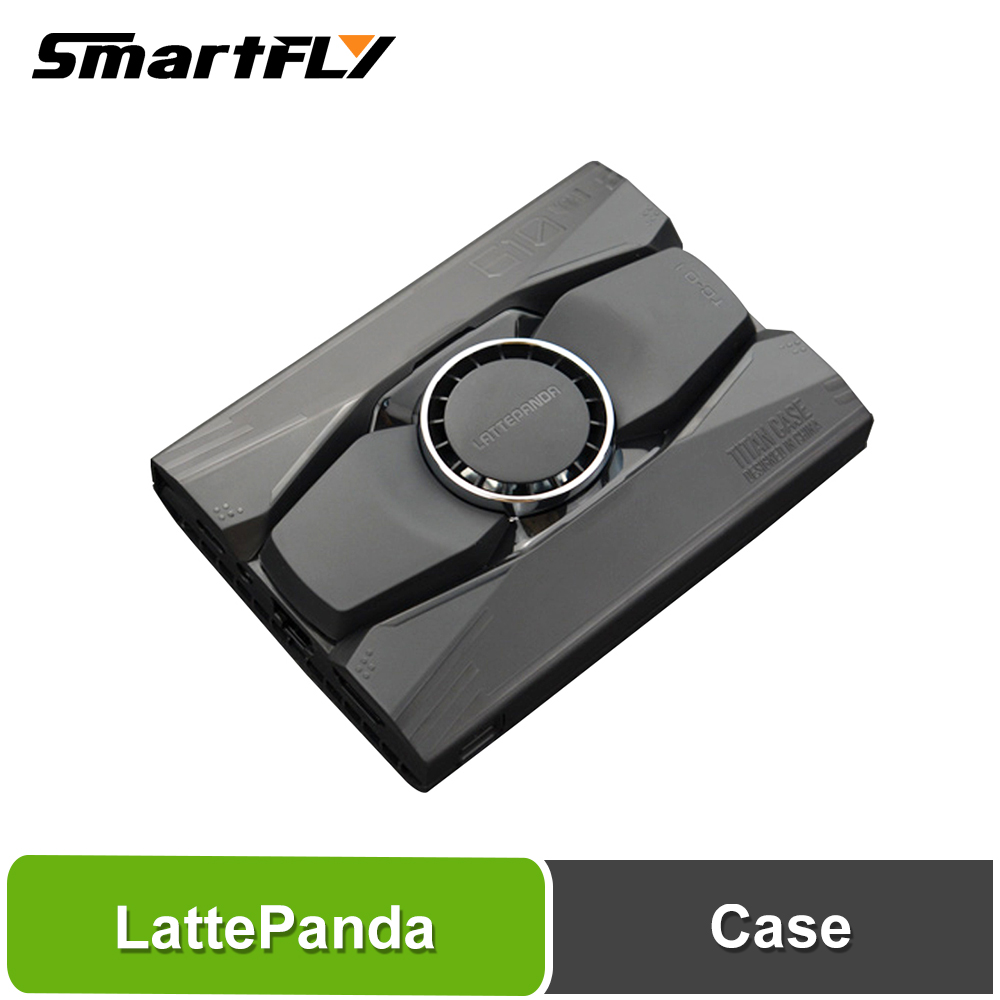 Smartfly LattePanda Alpha / LattePanda Delta Latte Panda Aluminum Alloy Cooling Case Perfectly Protects The Motherboard