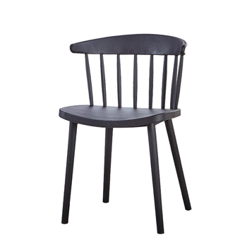 Simple Modern Nordic Windsor Chair Plastic Chair Dining Chair Back Home Adult Student Leisure Net Red Desk Chair