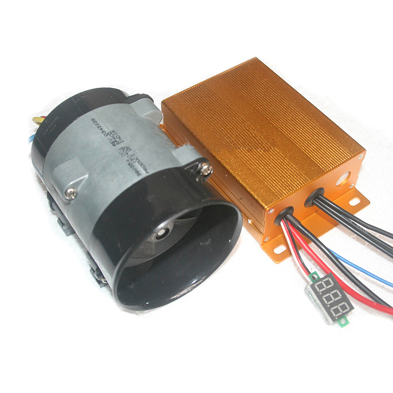 Universal 12V 16.5A 300W Car Electric Turbine Carregador Turbo With Automatic Controller 35000 RPM Turbo Charger Accessories