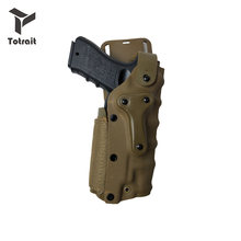 3280 étui à pistolet tactique Pistola Safar Combat taille étui convient à gauche droite ceinture pour GL 17 Colt 1911 92 USP Sig Sauer P226
