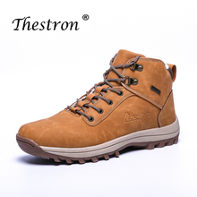 Winter Couple Boots Black Pink Tactical Mens Rubber Shoes Casual High Quality Snow Fur Hiking Men