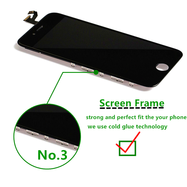 LCD Screen for iPhone 8 8 Plus AAA+ Display Digitizer Assembly with 3D Touch Good Tianma for iPhone 7 7 Plus Replacement Screen