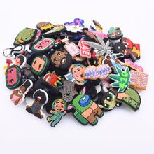 Mix Styles 100 Pcs Random Croc Shoes Charms Shoe Accessories For Bracelet Wristband Party Gifts