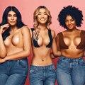 Hohe Qualität Heißer Körper Unsichtbare Nippel Abdeckung Frauen DIY Brust Lift Band Sexy Push-Up-Bh Kleber Lift Up Boob band Beige Schwarz