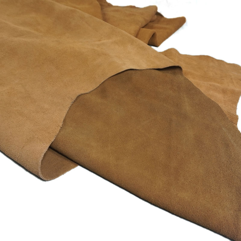 Natural   leather   Piece Genuine Cow Split   Leather     Suede   Hide Skin   Leather   Material For Leathercraft Sewing Accessories