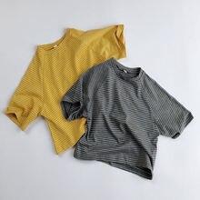 Детская одежда Корейская версия футболок с коротким рукавом
