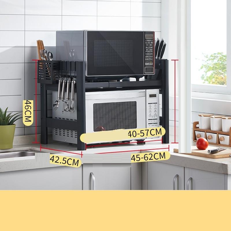 Keuken Almacenaje Cosas Malzemeleri De Etagere A Micro Ondes Reglable Cozinha Mutfak Cocina Organisador Support Etageres De Rangement De Cuisine