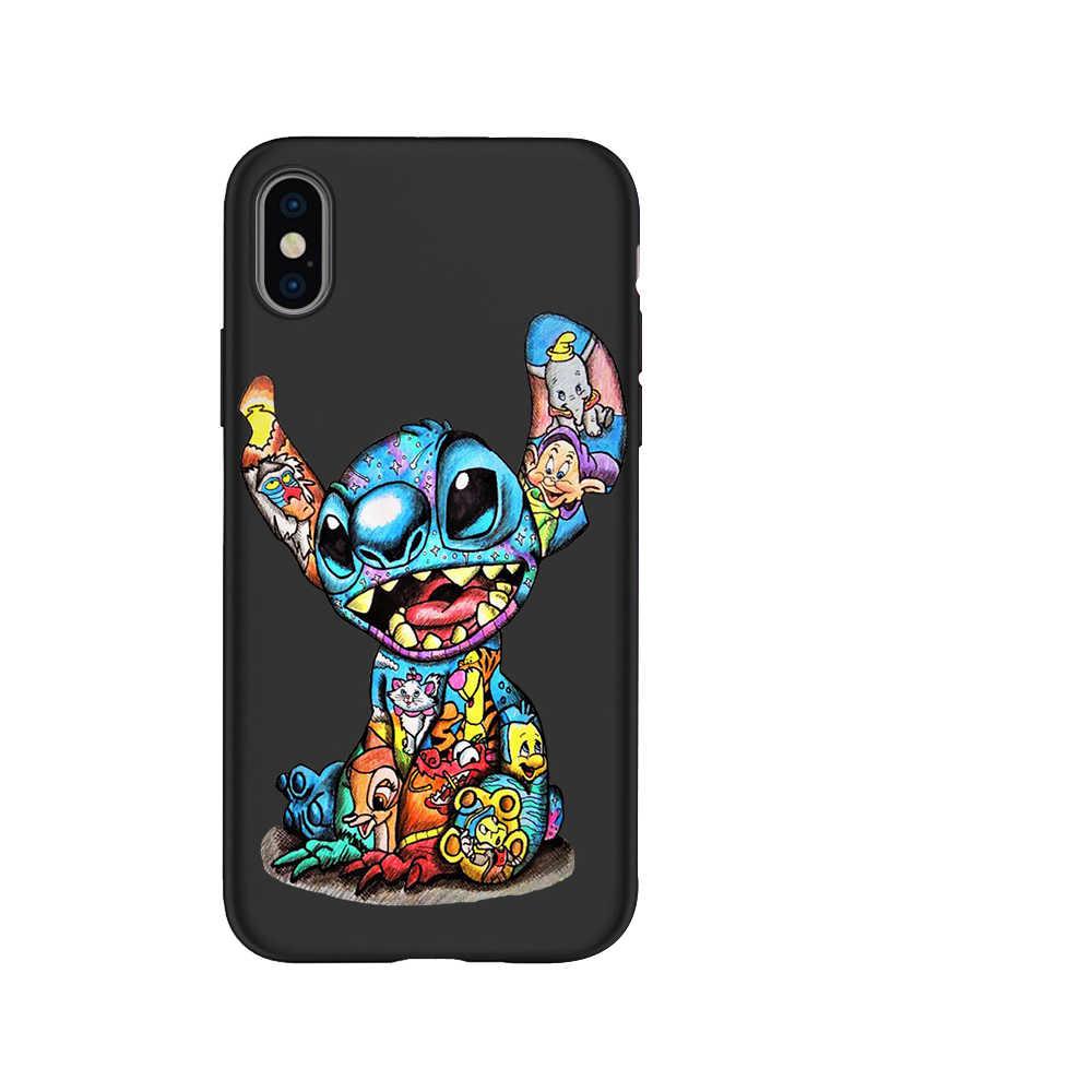 Marvel Deadpool Stitch Joker Groot DIY teléfono personalizada caso para iPhone11 Pro 7 7 6 6S Plus 5 5S SE XS MAX XR Coque estuche de protección