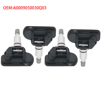 4Pcs for Mercedes Benz CL65 AMG 2010-2013/ CLA250 2014 / CLA45 AMG 2014 / CLK350 2006-2009 Tire Pressure Monitor system Sensor