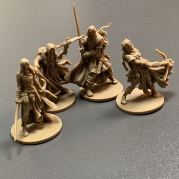 New 4pcs Heroes Board Games Nolzur's Marvelous Miniatures Warsgame Role Playing Figures PVC Toys Collection new 4pcs heroes board games nolzur s marvelous miniatures warsgame role playing figures pvc toys collection