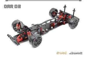 Image 4 - SN RC DRR 02 DRR02 1/10 2WD ขนาดใหญ่มุมพวงมาลัย POSTPOSITION โพสต์ไดรฟ์ DRIFT รถ