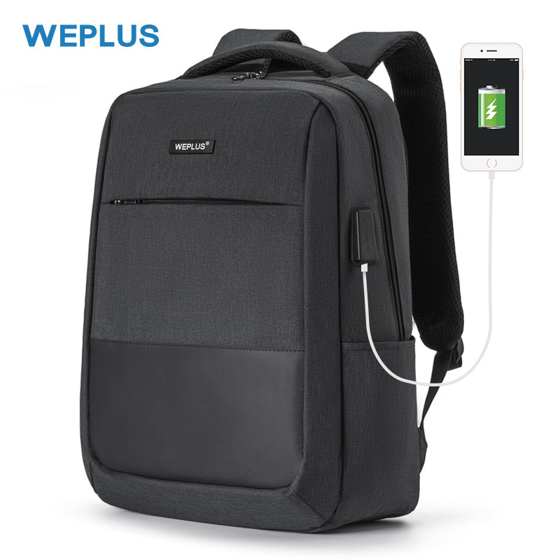 Multifunctional Laptop Backpack Men Waterproof For 15.6 Inch USB Charging Casual Daypack  School Bag Men Female Girl Backbag