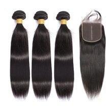 Красивые перуанские пучки волос grace с застежкой 28 30 дюймов