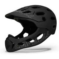 Mountain Adult Men Cycling Helmet Full Covered MTB Down Hill Full Face Women Bicycle Helmet Bike Helmet Extreme Sports Skating