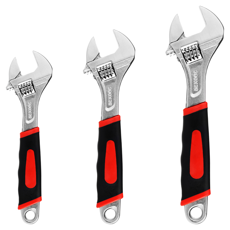 Moving Mouth Multi-Function Adjustable Wrench Spanner Stainless Steel Universal Spanner Mini Nut Key Hand Repair Tools Maximum