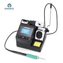 PHONEFIX Estación de soldadura de precisión JBC CD 2SHE, con mango de T210 A, para reparación de soldadura de placa base, herramienta móvil