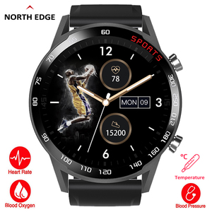 NORTHEDGE Smart Watch Men Spor