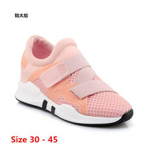 Flat Platform Women Shoes Hook & Loop Flats Summer Winter Air mesh Shoes Woman dames damesschoenen Small Big Size 30 - 45(China)