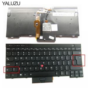 YALUZU Backlit New English Keyboard for Lenovo ThinkPad L530 T430 T430S X230 W530 T530 T530I T430I 04X1263 04W3048 04W3123 US