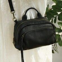 цена на Vintage Sac A Main Real Leather Tassel Luxury Handbag Women Bags Designer Shoulder Bag Top Quality Crossbody Bag For Women 2020