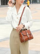Torebki damskie torebki damskie skórzane damskie luksusowe torby na ramię torebki damskie moda torby Crossbody dla kobiet tanie tanio Na co dzień torebka Na ramię i torby crossbody CN (pochodzenie) Prawdziwej skóry Skóra bydlęca zipper SOFT Solidna torba