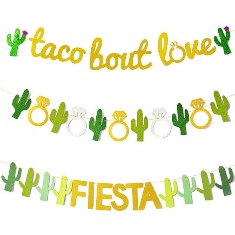 Fiesta Trang Trí Tiệc Mexico Dự Tiệc Cung Cấp Nhiều Màu Sắc Alpaca Xương Rồng Fiesta Balo Biểu Ngữ Xương Rồng Bóng Bay Bachelorette