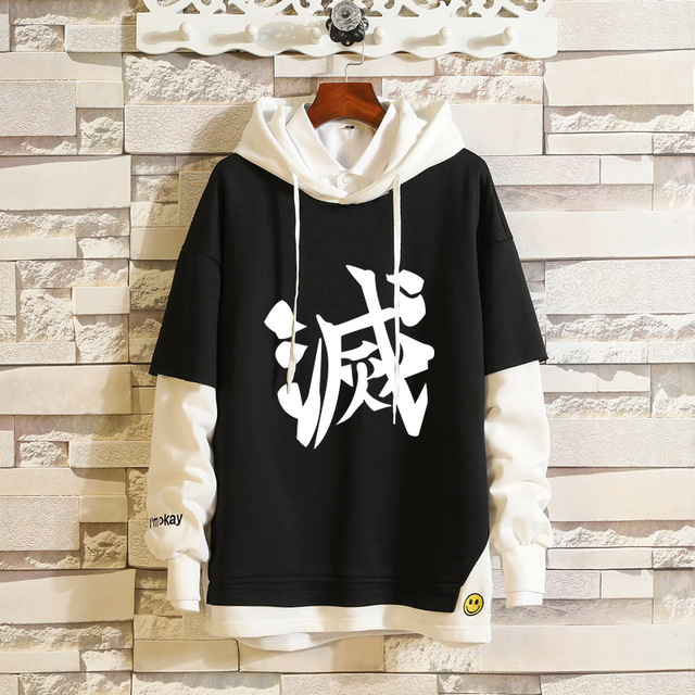 DEMON SLAYER THEMED PULLOVER HOODIE (9 VARIAN)