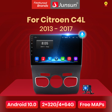Video-Player Multimedia Navigation Gps Car-Radio Junsun V1 Citroen C4l Android-10