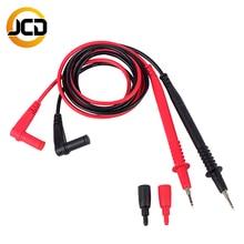 JCD Multimeter Sonde Test Führt Pin für Digital-Multimeter Nadel Spitze Multi Meter Tester Blei Sonde Draht Stift Kabel 20A 1000V