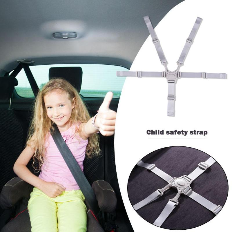 Универсальный Детский обеденный стул безопасности ремни безопасности портативный водонепроницаемый 5 точечный ремень безопасности для коляски Acce высокий стул защита поставки