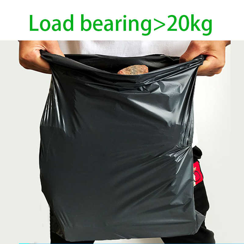 Courier Bags 10pcs Black Storage Bag Plastic Poly Shipping Bag Envelope Mailing Bags Self Adhesive Seal Plastic Pouch