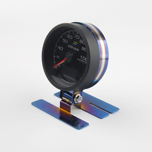 2 52mm water temp gauge blue red led car temperature digital meter tint lens universal gauge pod mount holder black bluing Gauge Pod 68mm Universal Gauge Car Mount Holder Single Auto Car Meter Pods Dash Pod Mount Bracket Adjustable