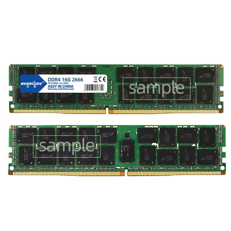 DDR4 32GB ecc reg ram 2133MHz 2400MHz 2666MHz PC4 RDIMM compatible 8GB 16GB 4