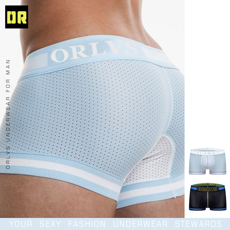 Men Boxer Underwear Cueca Masculina Boxers Mesh Breathable Comfortable Underpants Calzoncillo Men Boxer Shorts Male Panties