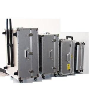 Image 2 - REIZEN TALE grote aluminium bagage koffer harde trolley case tool case tas op wiel