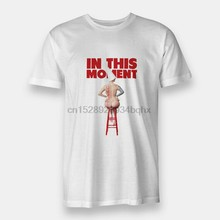New Whore In This Moment Maria Mens T-shirt S to 3XL White(China)