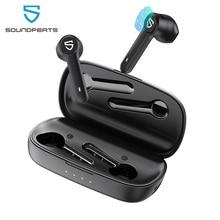 SoundPEATS TrueBuds Trueหูฟังไร้สายบลูทูธ5.0 Touch ControlหูฟังTWSชาร์จ2600Mahกรณี