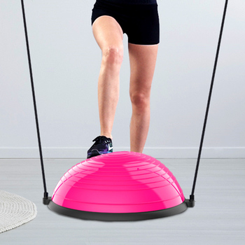 Fitness hemisphere indoor fitness for yoga training balance ball of coordination fat burning equipment