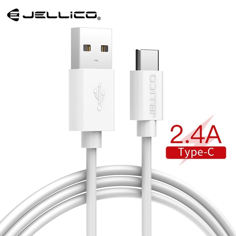 Jellico type C câble usb câble de charge rapide pas de chargeur LED données 2.0 charge rapide pour MacBook Pro Redmi Note8 Pro câble de chargeur