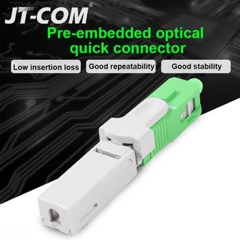 Brand New Fiber Optic Fast Connector FTTH SC APC Single Mode Quick  SM