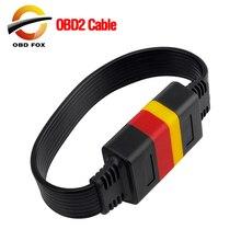 Universal OBDII 16Pin Verlängerung Kabel Fahrzeug Autos OBD2 männlich zu Weiblich Extend OBD Auto Diagnose Kabel