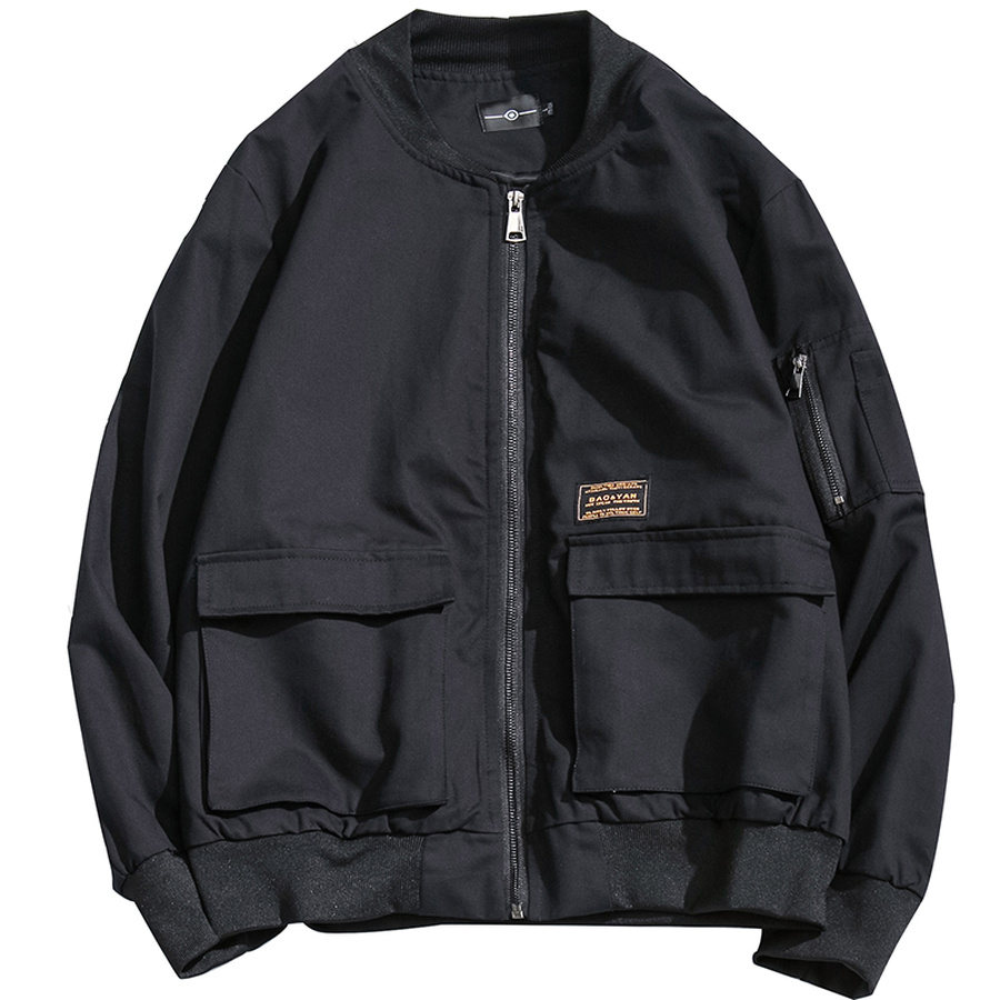 Черная джинсовая повседневная мужская куртка с карманами, мужские джинсовые куртки, Мужская модная Японская уличная одежда, хлопок, 5xl, HH50JK