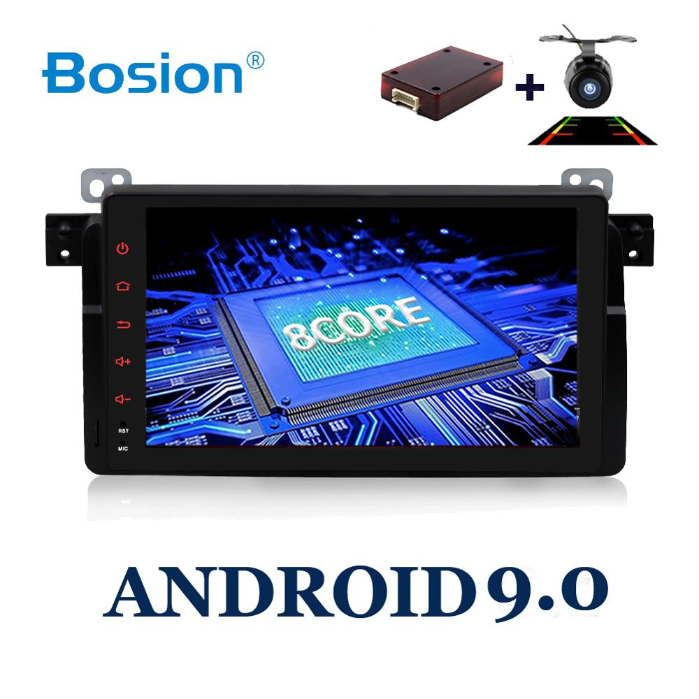 single 1 DIN Octa Core Android 9.0 Car DVD For BMW E46 car multimedia android Radio Stereo GPS Navigation Bluetooth WIFI Radio image