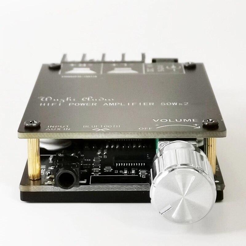 Bluetooth 5.0 Digital 50W+50W TPA3116 Audio Power Amp For Speakers 30W~200W HiFi Stereo TPA3116D2 Aux Amplifier Board 4
