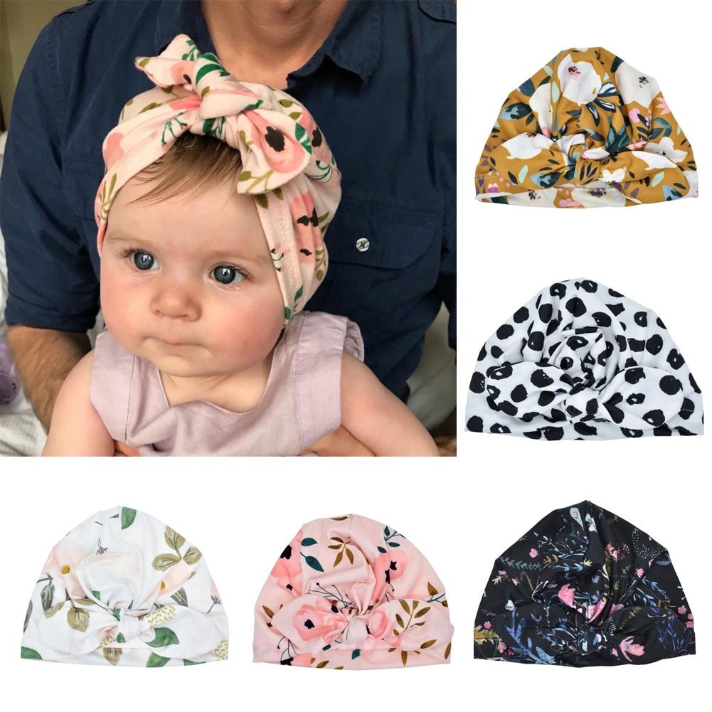 Christmas Stockings,Cute Baby Girls Boys Bow Turban Hat Toddler Kids Head Wrap Headband Cap,Balaclavas