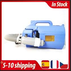 Auf Lager 220V Elektrische ULV Sprüher Fogger Maschine Handheld 5L Kapazität Sterilisator für Chiken Haus Hotel Öffentlichen Desinfektion