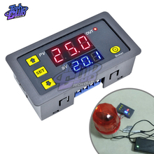 цена на AC 110V 220V DC 12V 24V Adjustable Digital Time Delay Relay LED Display Cycle Timer Control SwitchTiming Relay Time Delay Switch