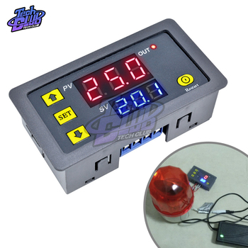 AC 110V 220V DC 12V 24V Adjustable Digital Time Delay Relay LED Display Cycle Timer Control SwitchTiming Relay Time Delay Switch 12v 24v relay harness control cable for h4 hi lo hid bulbs wiring controller