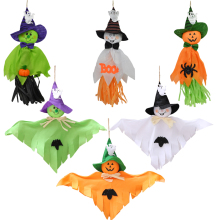1pc Halloween Ghost Hanging Decoration Indoor Outdoor Specter Party Ornament Utility Pendant Props Event Decor