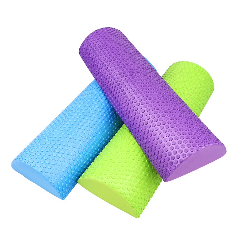 Half Round EVA Massage Foam Roller 30cm/45cm 1